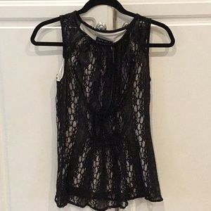 Tata Jolie Black Lace Top